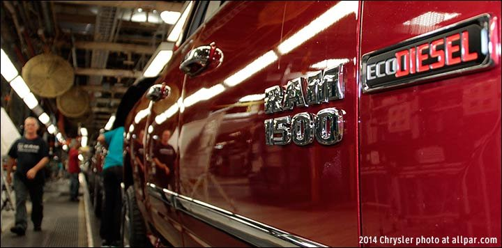 News: Certified: Ram 1500 diesel (updated)