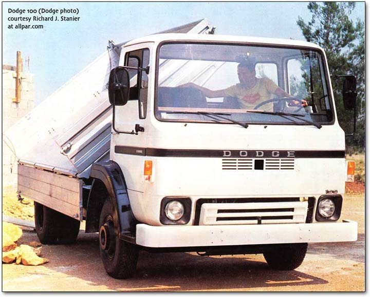 Dodge 100 tipper