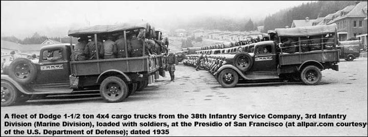 Dodge army trucks