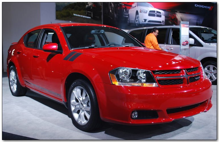 Chrysler At The 2011 Los Angeles Auto Show