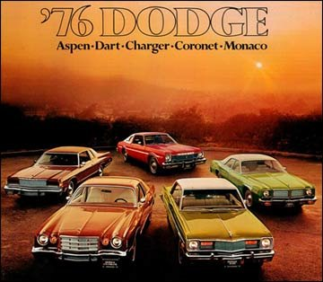 Chrysler, Plymouth, and Dodge 1976 cars, trucks, engines