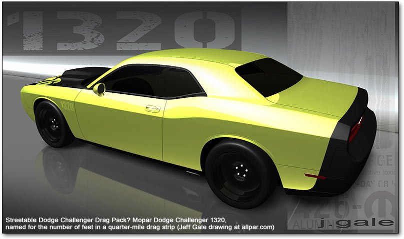 Dodge challenger 1320 for sale