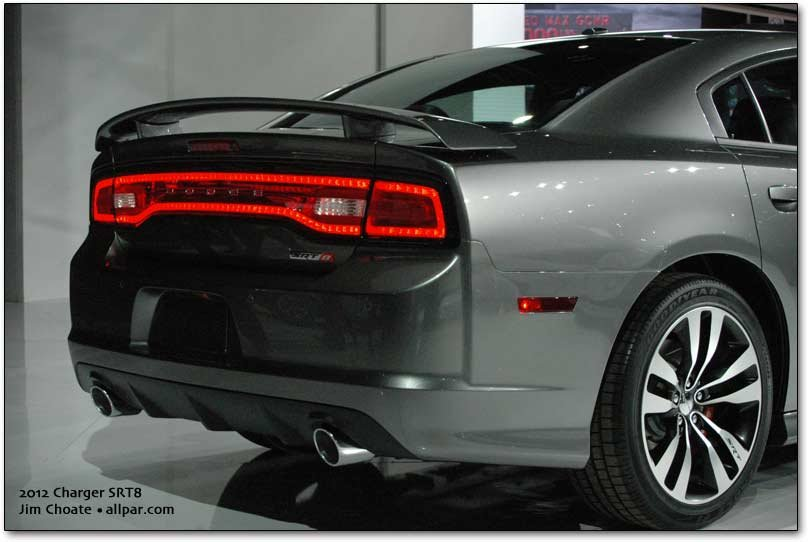 Dodge Charger SRT8 taillamps