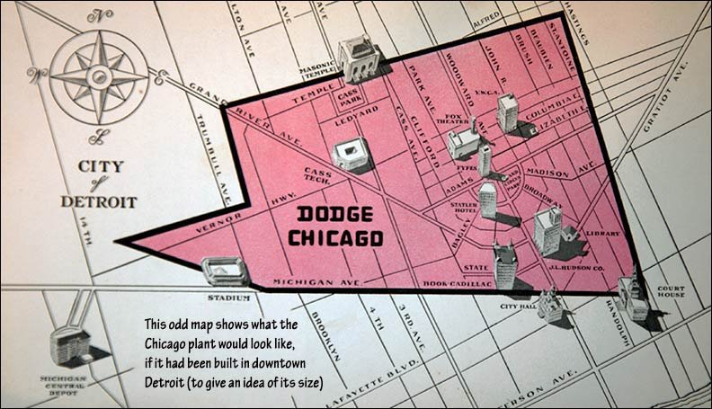 dodge chicago plant size