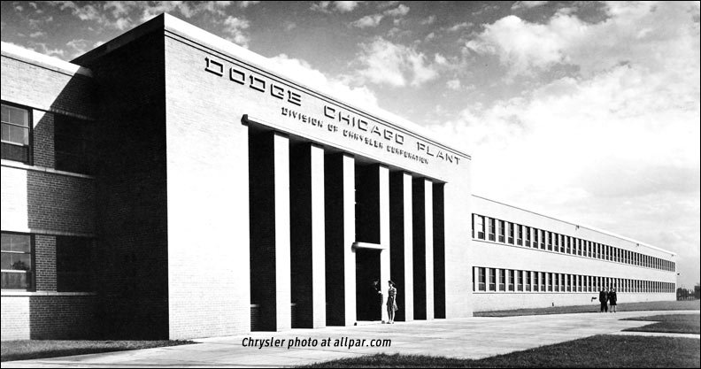 dodge chicago plant