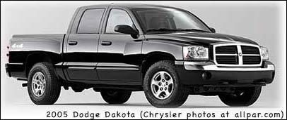 2007 dodge dakota v8 horsepower