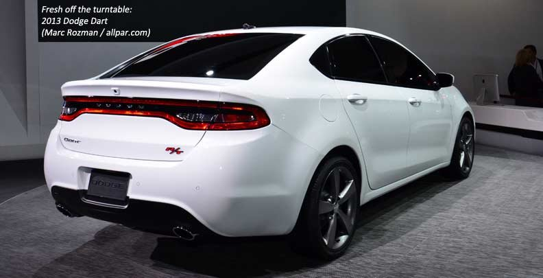 Dodge Dart tail