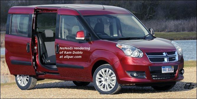 Fiat Vans To Be Ram Vans Ducato Doblo Iveco Daily