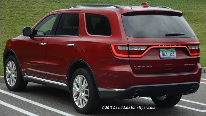 2015 Dodge Durango Citadel Review  Road Test
