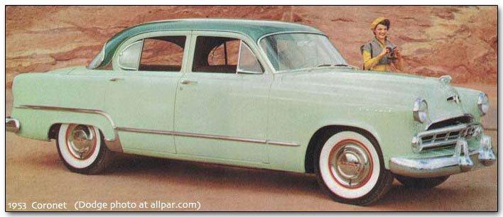 Dodge Coronet Cars 1949 75