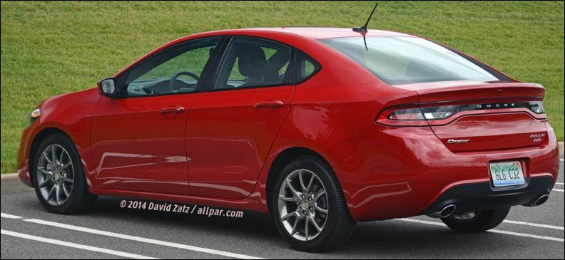 2014 dodge dart sxt rallye automatic the difference a. Black Bedroom Furniture Sets. Home Design Ideas