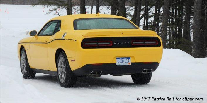 Testing A 2017 Dodge Challenger Gt Awd In The Snow With Video