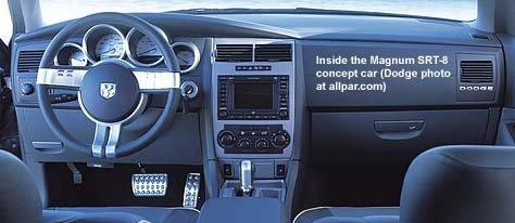Dodge Magnum SRT8 concept car