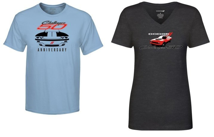 news dodge releases challenger 50th anniversary and christmas apparel news dodge releases challenger 50th