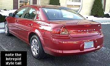 2001-2003 Chrysler Sebring / Dodge Stratus car reviews at allpar