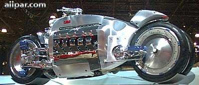 worlds fastest motorcycle-dodge-tomahawk