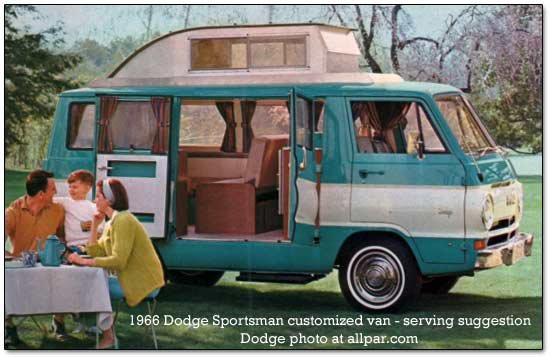 dodge sportsman custom van