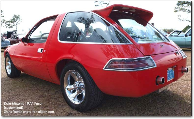 Car Of The Month February 2009 Dale Mixon 1977 Amc Pacer Drag Car