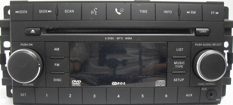 A Guide to Chrysler Dodge Jeep Plymouth Stereo Head Units
