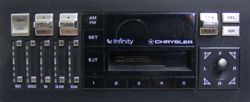Chrysler Infinity Ii Cassette Stereo Takeapart Repair Guide