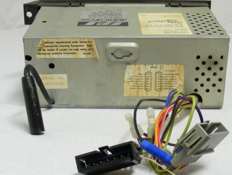 megasquirt wire harness pinout dealer-installed audiovox quartz lock stereo systems for ... #12