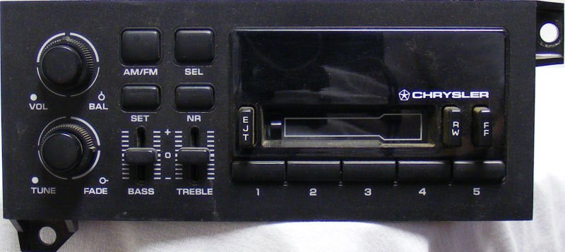 Fixing The 1990s Economy Cassette Deck For Chrysler Dodge