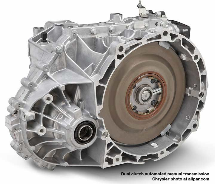 dual-clutch automatic - Chrylser and Getrag