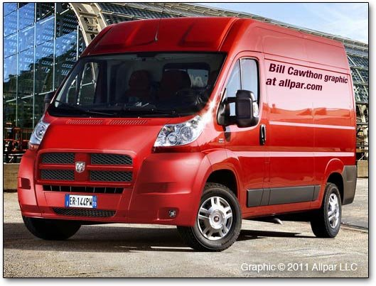 Renderings Of The Dodge Promaster What We Expected But