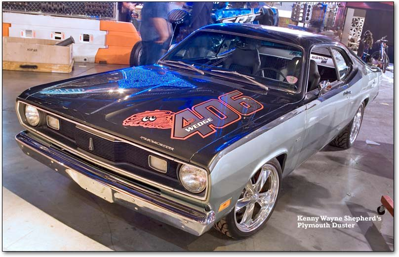 kenny wayne shepherd's plymouth duster