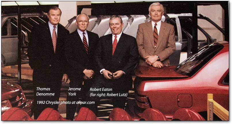 1992 Chrysler executives