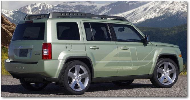 Jeep Patriot eV: electric concept car