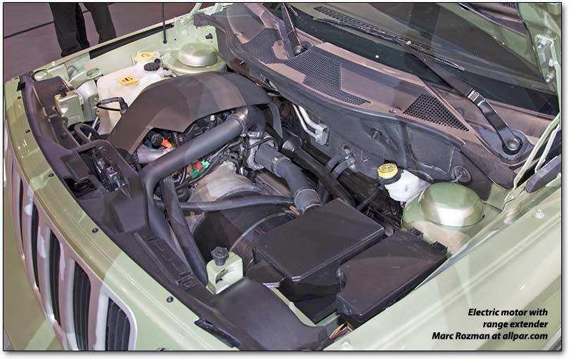 Electric Motor on 2015 Chrysler 200 Battery