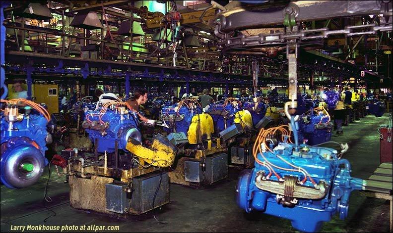 Engine Assembly on 1980 Dodge Ram