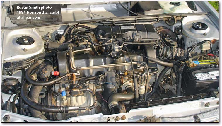 engine mopar (dodge plymouth chrysler) 2 2 liter engine tbi or carbureted  at webbmarketing.co