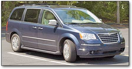 2008 chrysler town and country engine