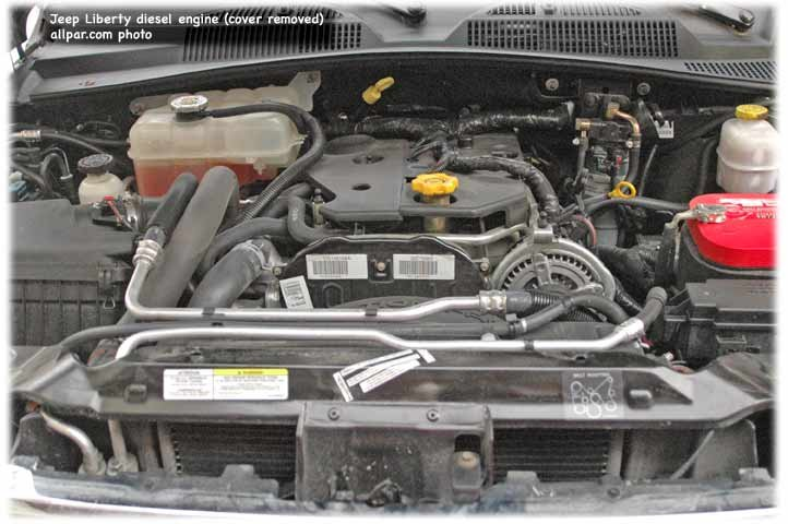 jeep liberty diesel engine