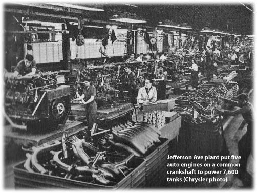 engine assembly plant