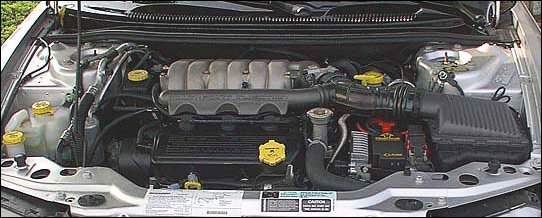 Engine on 2001 Chrysler Sebring Engine Diagram