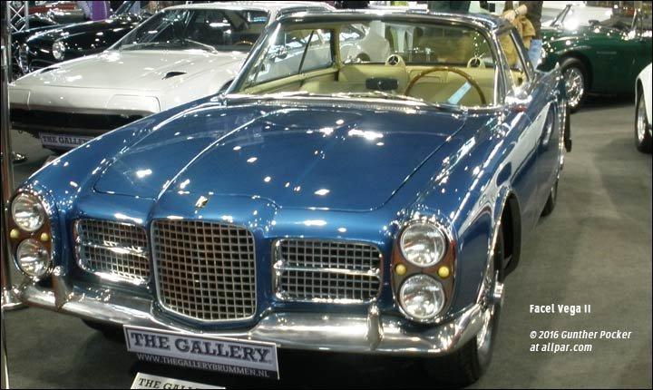 The Facel Vega Chrysler Powered Luxury From France