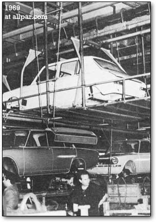 Simca factory in 1969