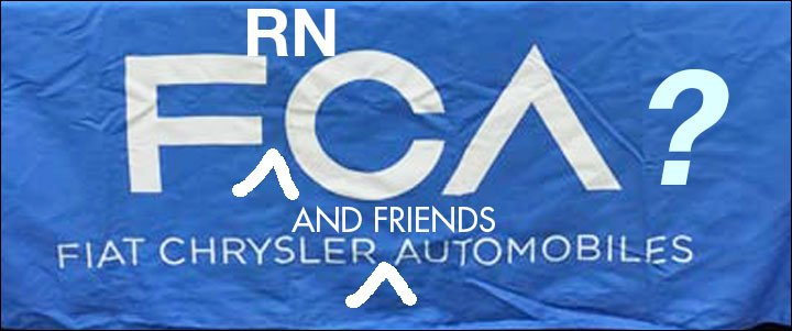 FCA and Renault - Nissan