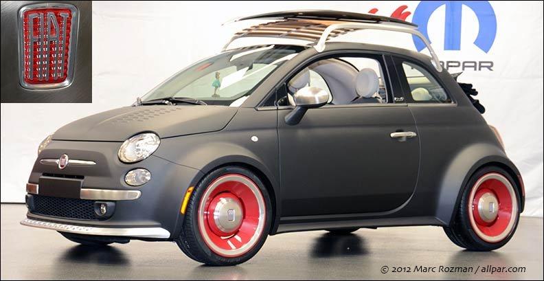 Lovely Fiat 500 Wheels