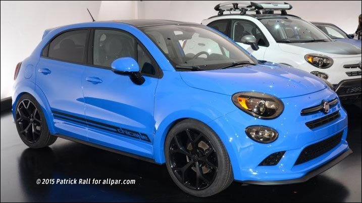 fiat 500x chicane concept car