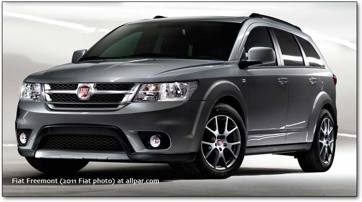 Fiat Freemont The Dodge Journey Abroad