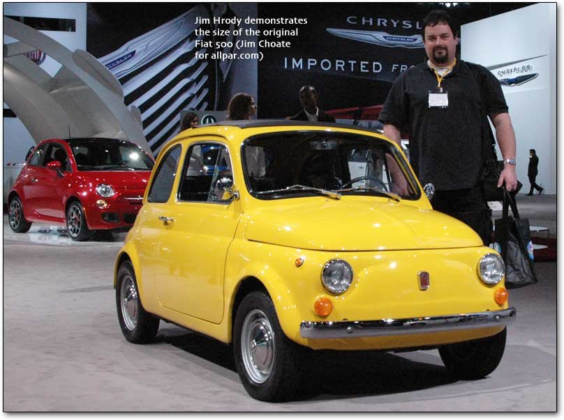 The Fiat 500 The First Fiat Car To Be Made By Chrysler