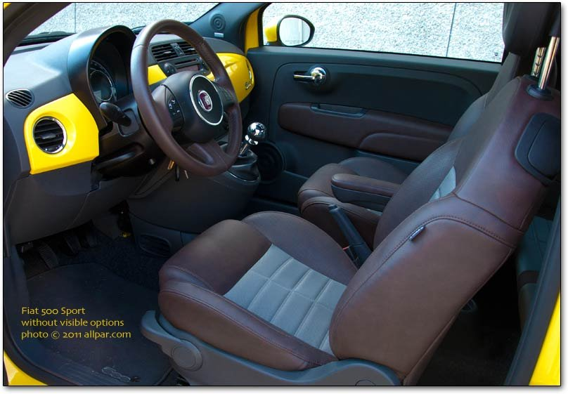 Incroyable Fiat Interior