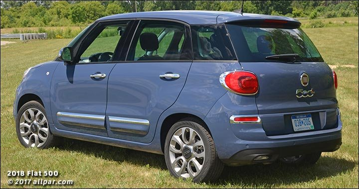 News 2018 Fiat 500l What S New Hands On