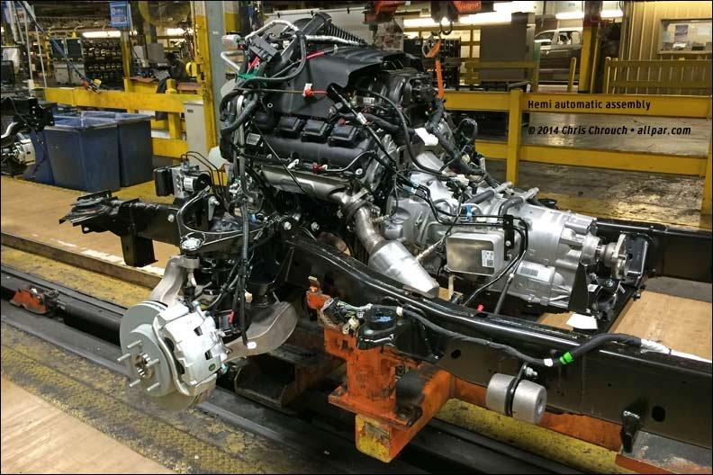 Building The 2016 Ram 1500 At Warren Truck Michigan