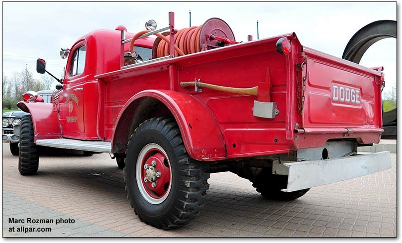 Power Wagon fire engine
