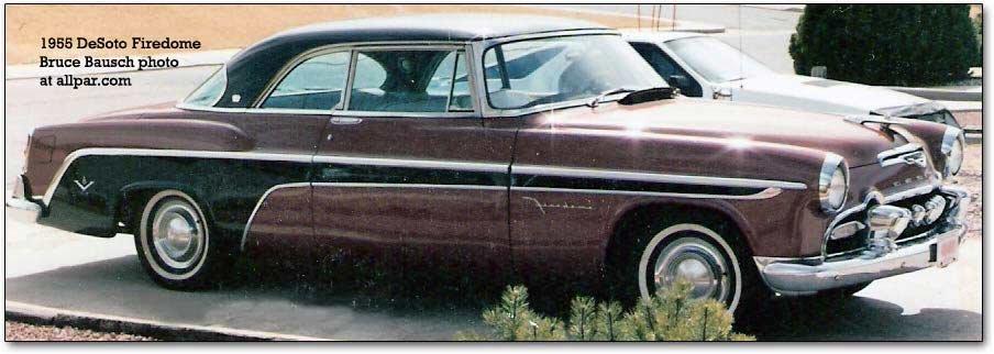 1955 Desoto Firedome Custom